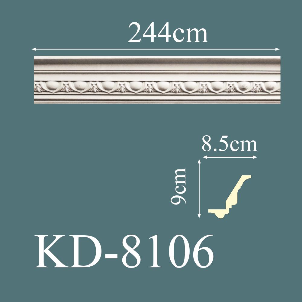 KD-8106-dekoratif-desenli-poliuretan-kartonpiyer-modelleri-resimleri-fiyatları-en-güzel-kartonpiyer-modelleri-tavan-kartonpiyer-duvar-kartonpiyeri