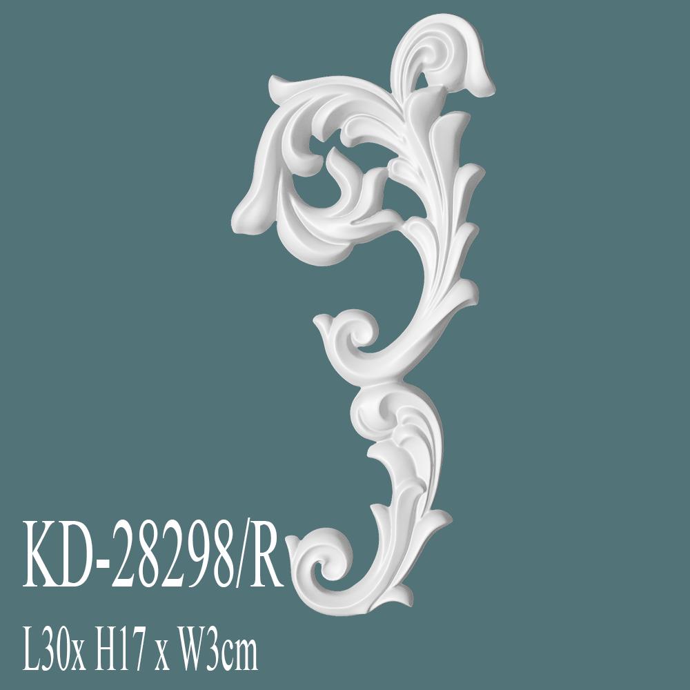 KD-28298R-avangart-poliüretan-tac-süsleme-çıta-aksesuar-fiyatları-boyanabilir-ahşap-muadili
