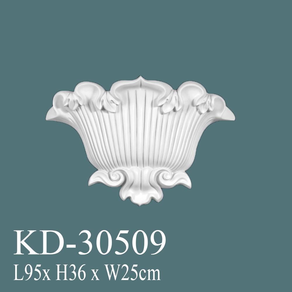KD-30509-aplik-avangart-tac-poliüretan-süsleme-çıta-aksesuar-fiyatları-boyanabilir-ahşapmuadili-duvar-süsü