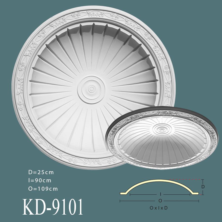 kd-9101-poliuretan-tavan-kubbesi-modelleri-resimleri-fiyatları-en-güzel-tavan-göbeği-modelleri-resimleri-fiyatları